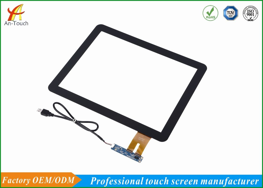 PC Kiosk Touch Panel 15 Inch High Accuracy 348.0*275.5mm Outline Dimension