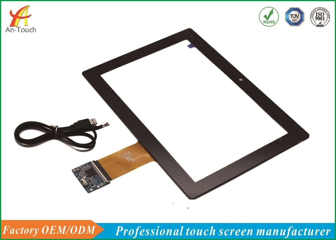 5V Projected Capacitive Touch Panel 10.1 Inch Compatible With Multiple System