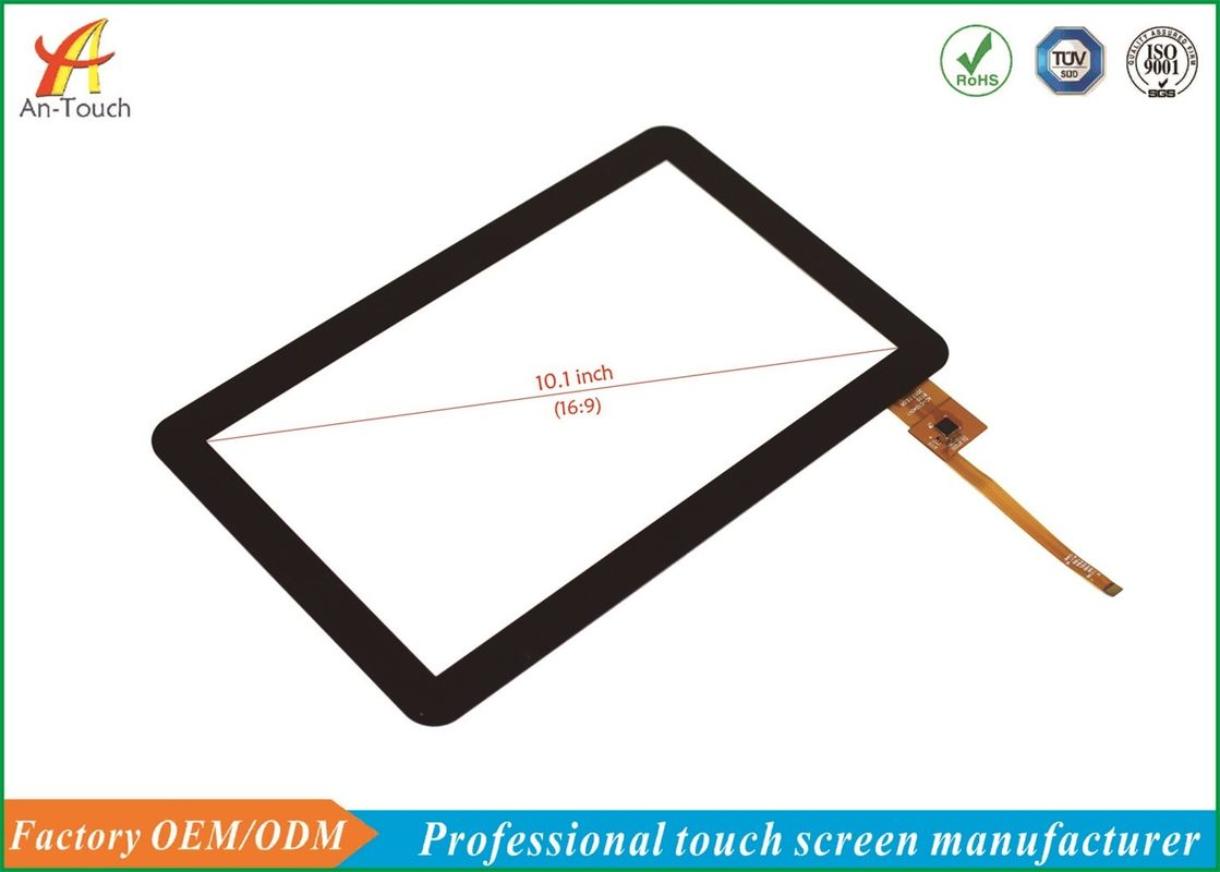Android Pos Touch Panel , 5 Point Capacitive Touch Screen 10.1 Inch I2C Interface