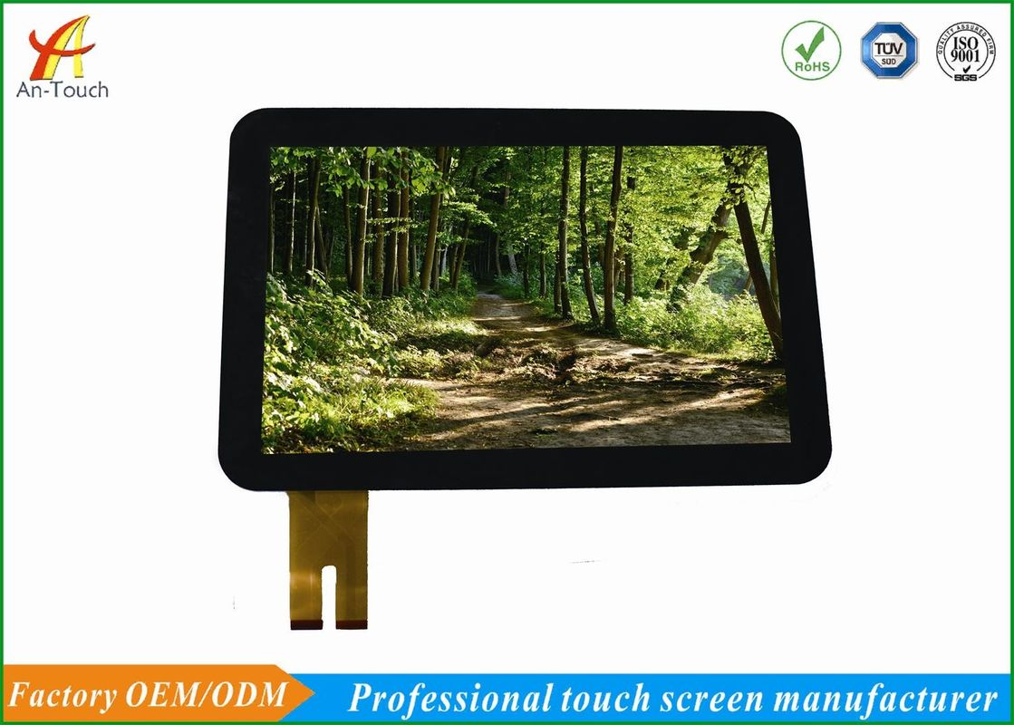 Transparent Glass LCD CTP Touch Screen Panel 12.1 Inch For Industrial Equipment